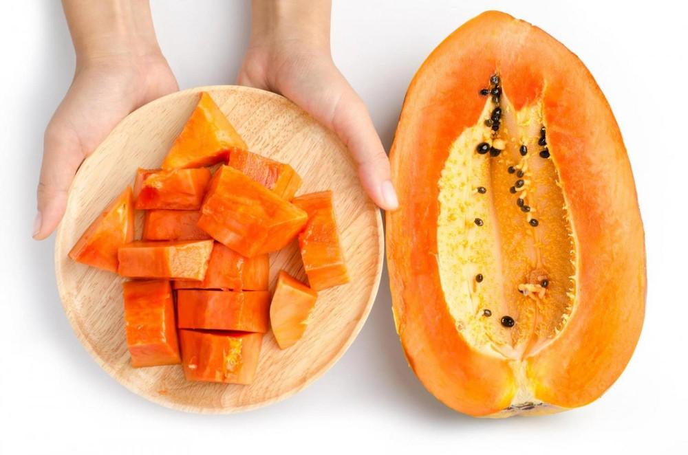 Trẻ 7 tháng tuổi nên ăn đu đủ để bảo vệ hệ tiêu hóa luôn khỏe mạnh