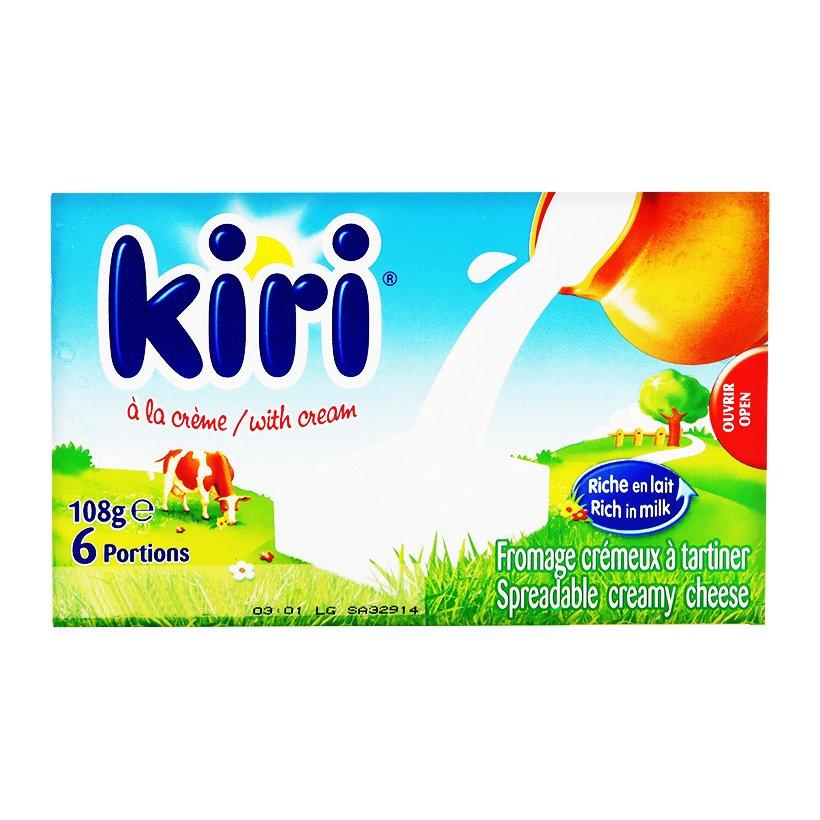 Phô mai Kiri với hương vị thơm ngon, tan chảy ngay trong miệng chắc chắn là một sự lựa chọn tuyệt vời dành cho bé
