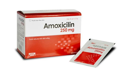 Thuốc amoxicillin 250mg
