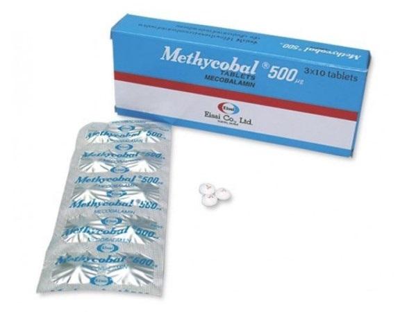 Thuốc mecobalamin 500mcg