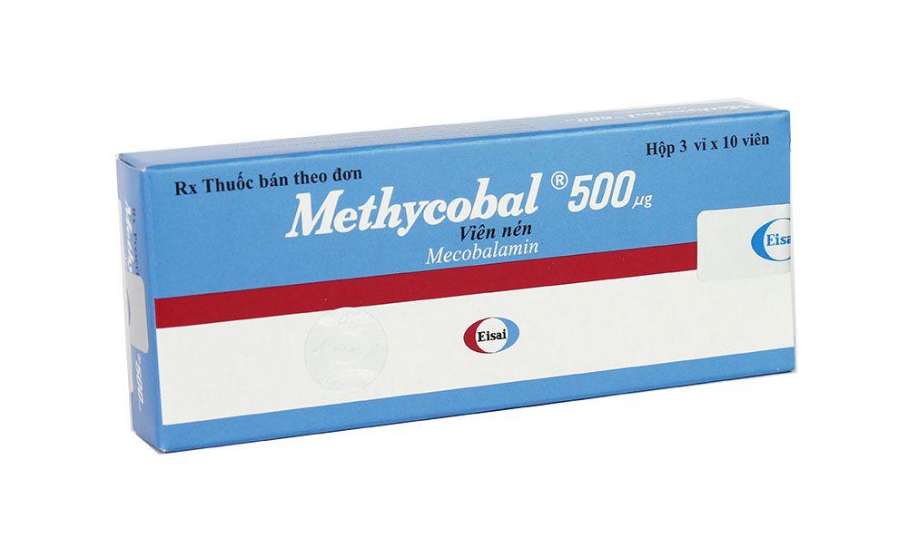 Tác dụng của thuốcMecobalamin 50mcg