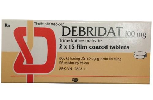 Thuốc debridat là thuốc gì? Thuốc có tác dụng và cách sử dụng như thế nào?