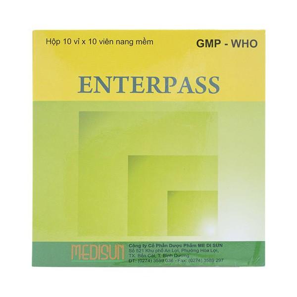 công dụng thuốc enterpass