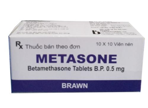 thuốc metasone chữa bệnh gì