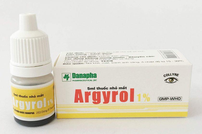 Thông tin về thuốc nhỏ mắt Argyrol mà chúng ta nên biết
