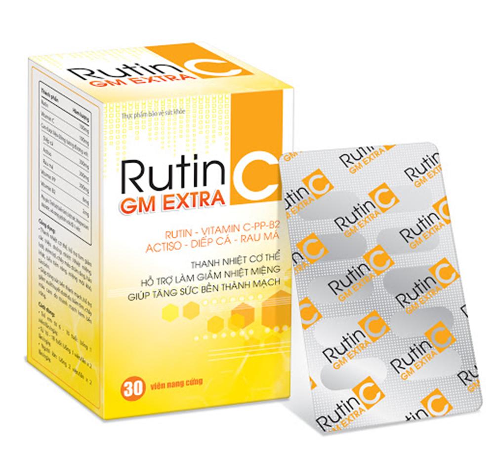 Những thông tin cần biết về thuốc Rutin C để đảm bảo sức khỏe