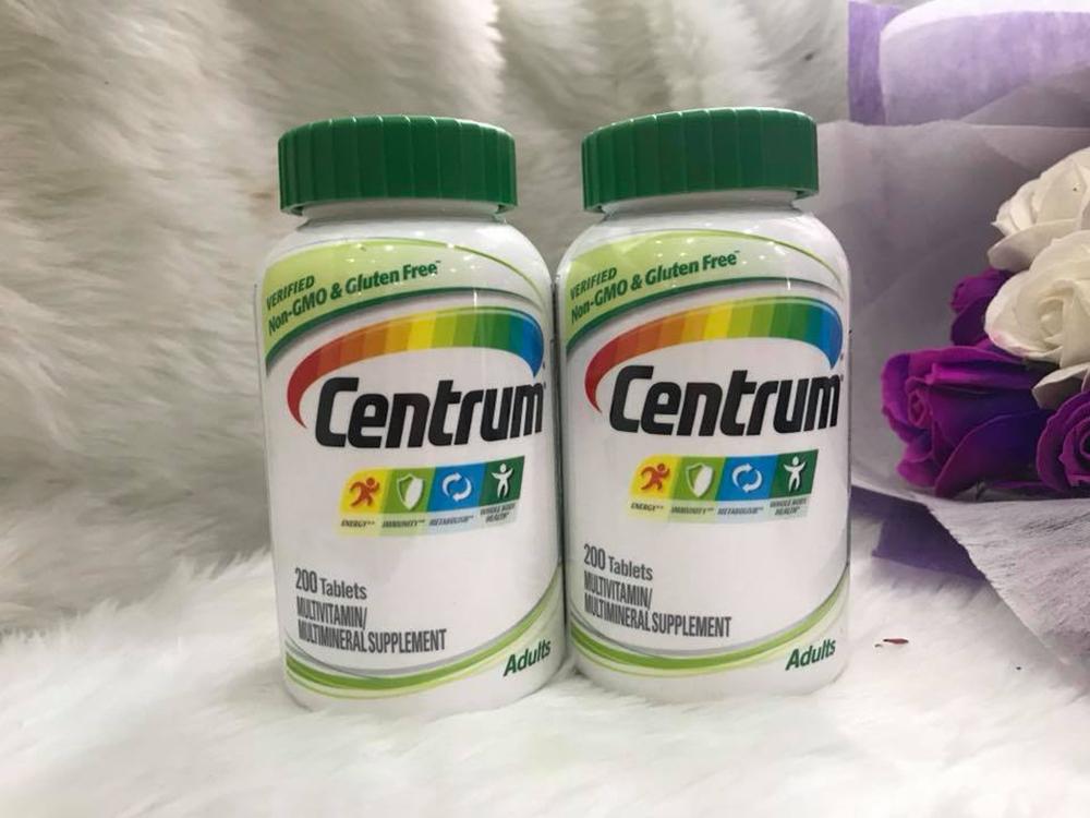 Tìm hiểu thuốc Centrum và thuốc có tác dụng gì đặc biệt với sức khỏe?