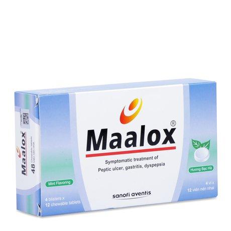 thuốc maalox có tác dụng gì