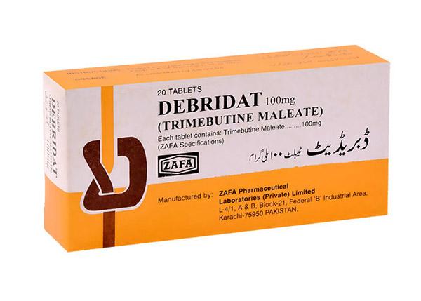 Thuốc Debridat 100mg có công dụng gì