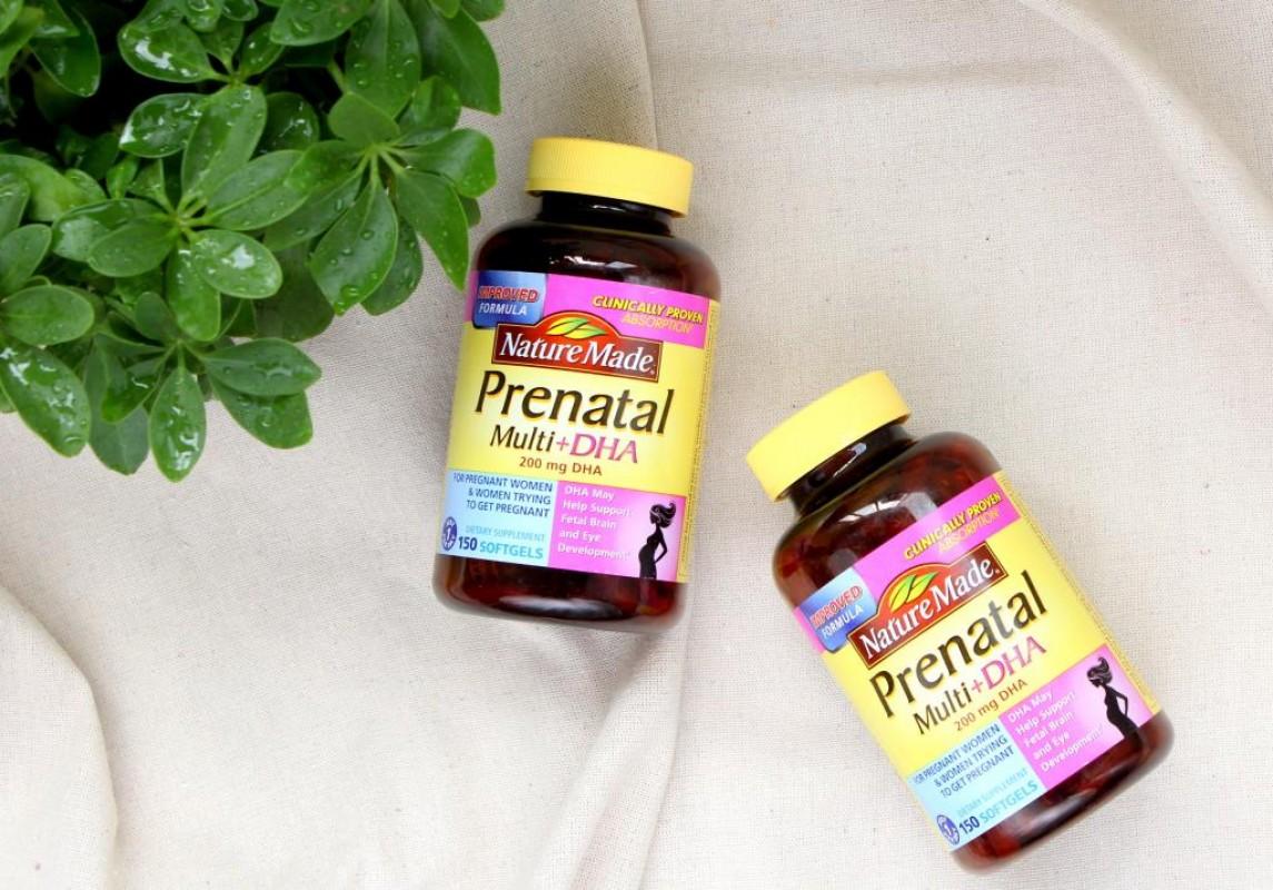 S-Prenatal viên uống bổ sung vitamin và khoáng chất