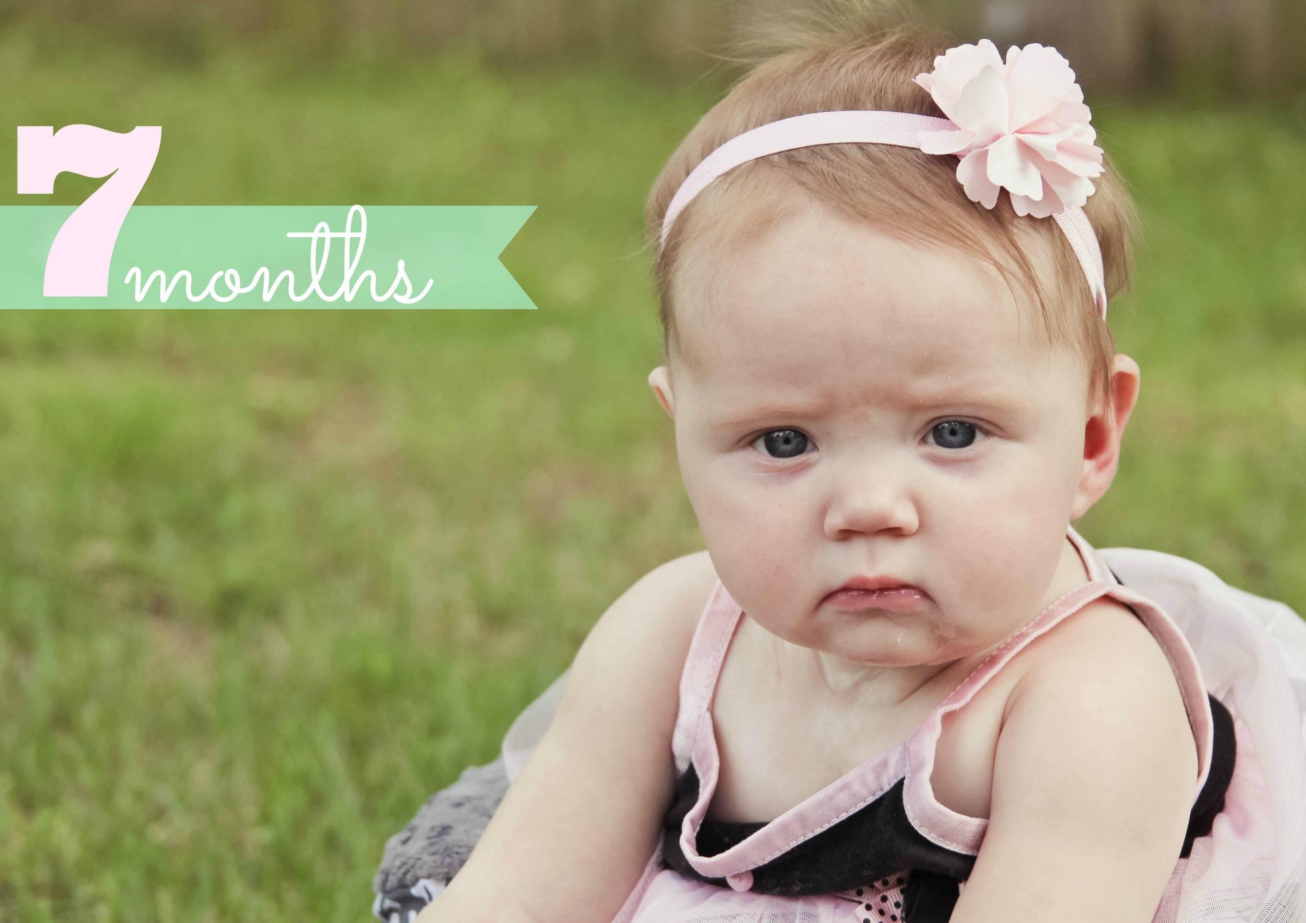 Giải đáp thắc mắc: Trẻ 7 tháng tuổi nặng bao nhiêu kg là phát triển tốt nhất